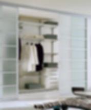 cabina aramdio con porte scorrevoli