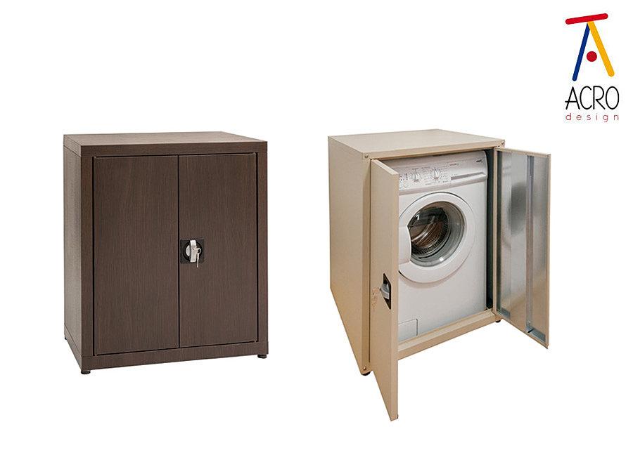 Arredo lavanderia acro design mobile copri lavatrice - Lavatrice esterno ...