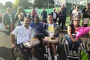 Remise des prix Tournoi ParaTennis et tennis fauteuil d'Airvault Ligue Nouvelle Aquitaine de Tennis FFT