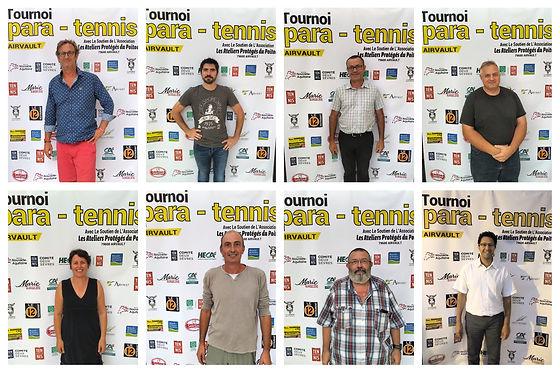 Tennis Fauteuil & Paratennis - Comité d'organisation du tournoi d'Airvault LNA - FFT
