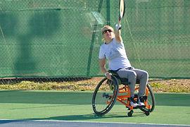 ParaTennis Joueuse Tennis Fauteuil du Tournoi Airvault 2019