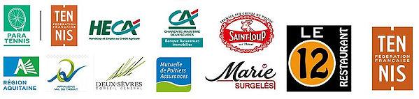 Partenaires 2019 Sponsors Tennis Fauteuil Airvault