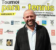 Philippe Mouiller Sénateur & Tournoi Paratennis & Tennis Fauteuil Airvault Deux-Sèvres