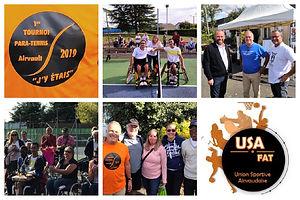 Tournoi Paratennis & Tennis Fauteuil Airvault TMC USA&FAT