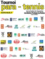 Partenaires Tournoi ParaTennis & Tennis Fauteuil 2019