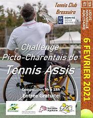 TOURNOI TENNIS ASSIS 6 FEVRIER 2020 BRESSUIRE