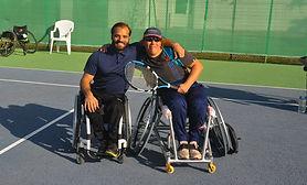 Tournoi ParaTennis Airvault 2019 FFT Deux-Sèvres Tennis Fauteuil