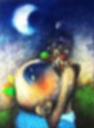Yasiel Elizagaray, El deseo a la luna .jpg