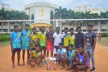 Volley Ball Tournament Winners