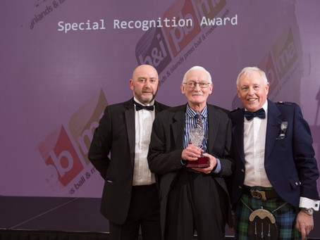 IAN HONOURED FOR 46 YEARS SERVICE TO FREE PRESS