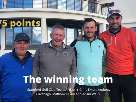 Stamford Golf Club Win Team Event