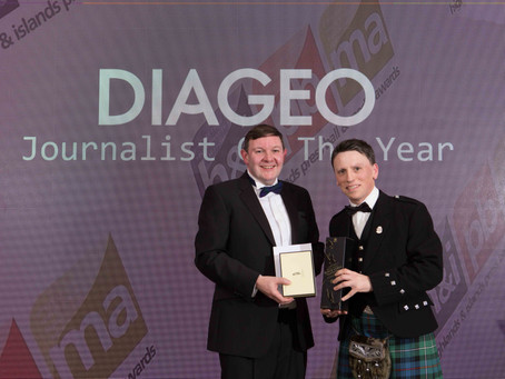 KEITH MACKENZIE NAMED JOURNALIST OF THE YEAR AT HIGHLANDS AND ISLANDS MEDIA AWARDS