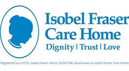Isobel Fraser Care Home master logo-scio