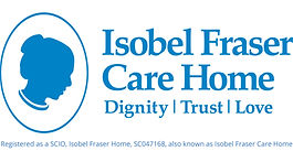 Isobel Fraser Care Home master logo-scio