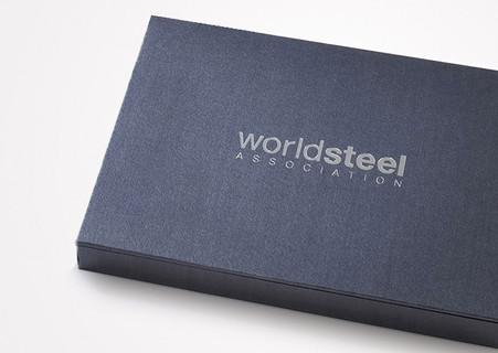 worldsteel Rebranding Box