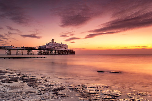 Eastbourne Pier - Fine Art Print by Bex Maini