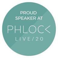 Speaker at Phlock Live 2020