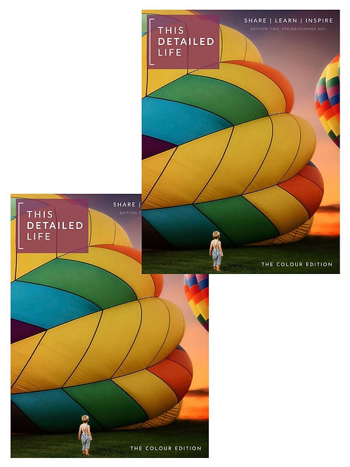 TWO Copies of Edition 3: COLOUR (pre-order)