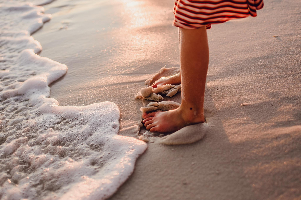 January beach details by Mindy Tingson