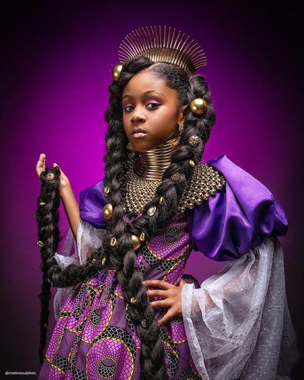 black princess - rapunzel