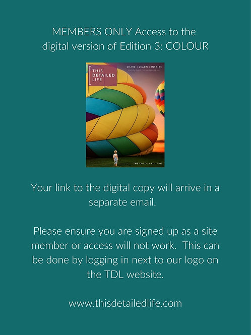 MEMBERS ONLY - Edition 3: Colour (Digital Access)