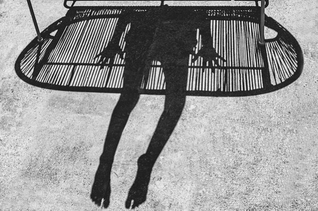 lines and shadows and legs