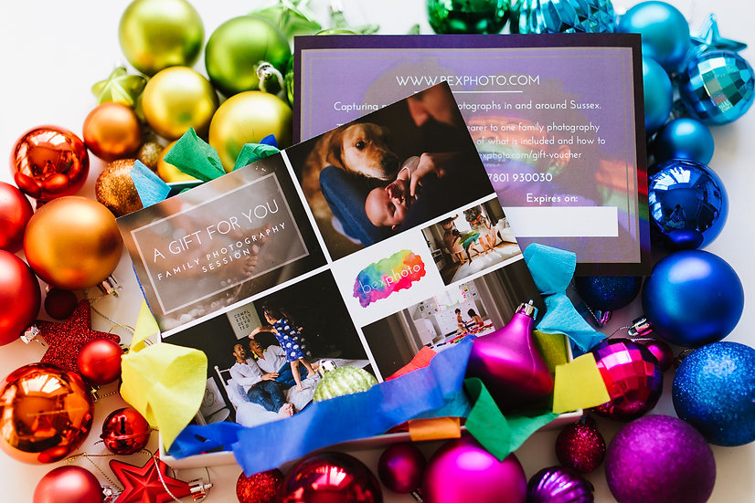 Bexphoto Gift Voucher - Family Photography