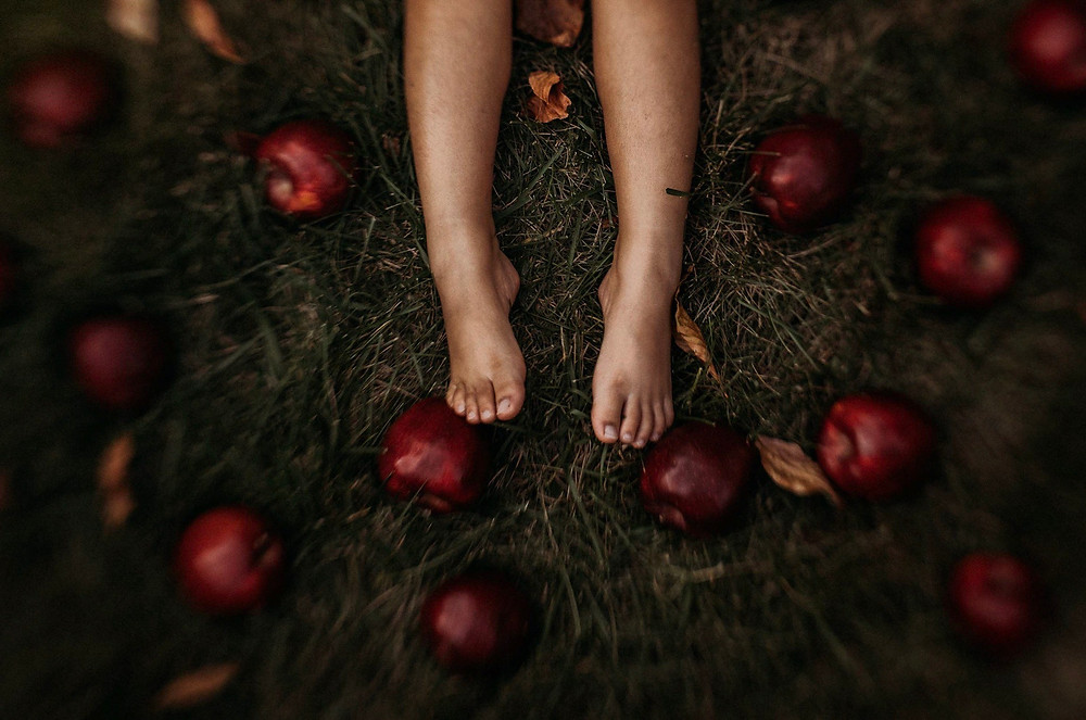 October apple details by Priyanka Berry