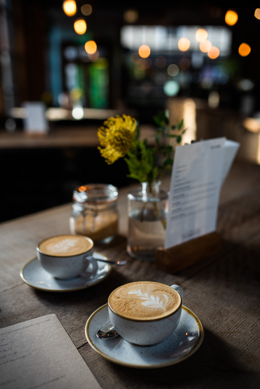 Coffee cups, brand photography in Framptons, Royal Tunbridge Wells.
