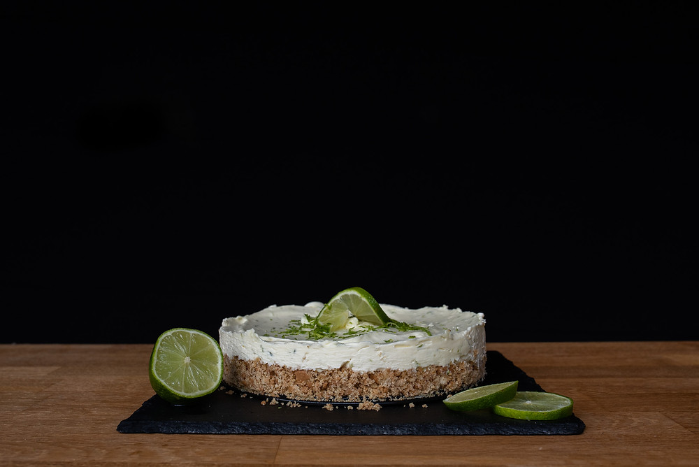 key lime pie on a table