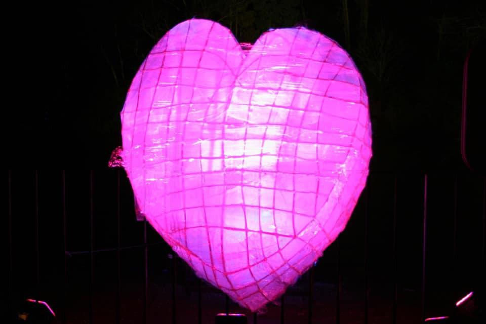 violet heart light