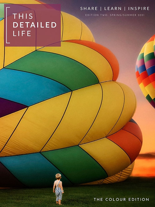 This Detailed Life Magazine Edition 3: COLOUR (pre-order)