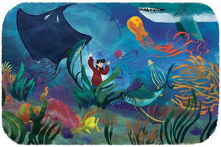 Natalie Hall, Illustration