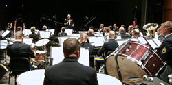 CPT Huff with US Army TRADOC Band