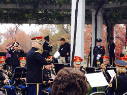 CPT Huff with The US Army Band