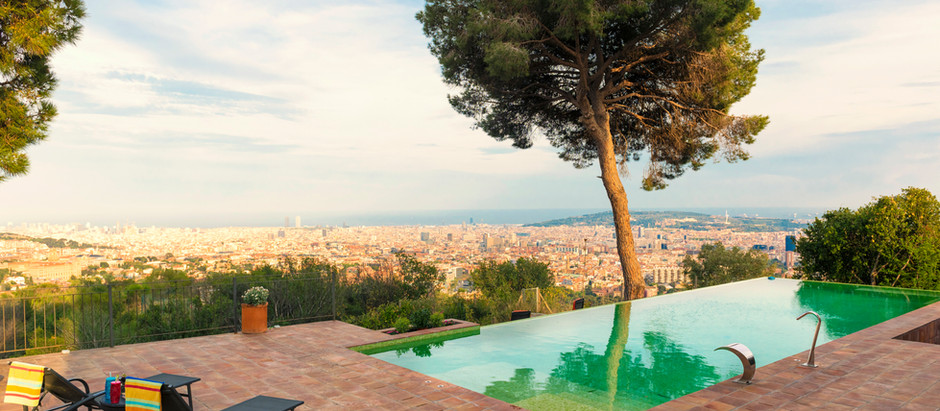 Luxury real estate in Barcelona.