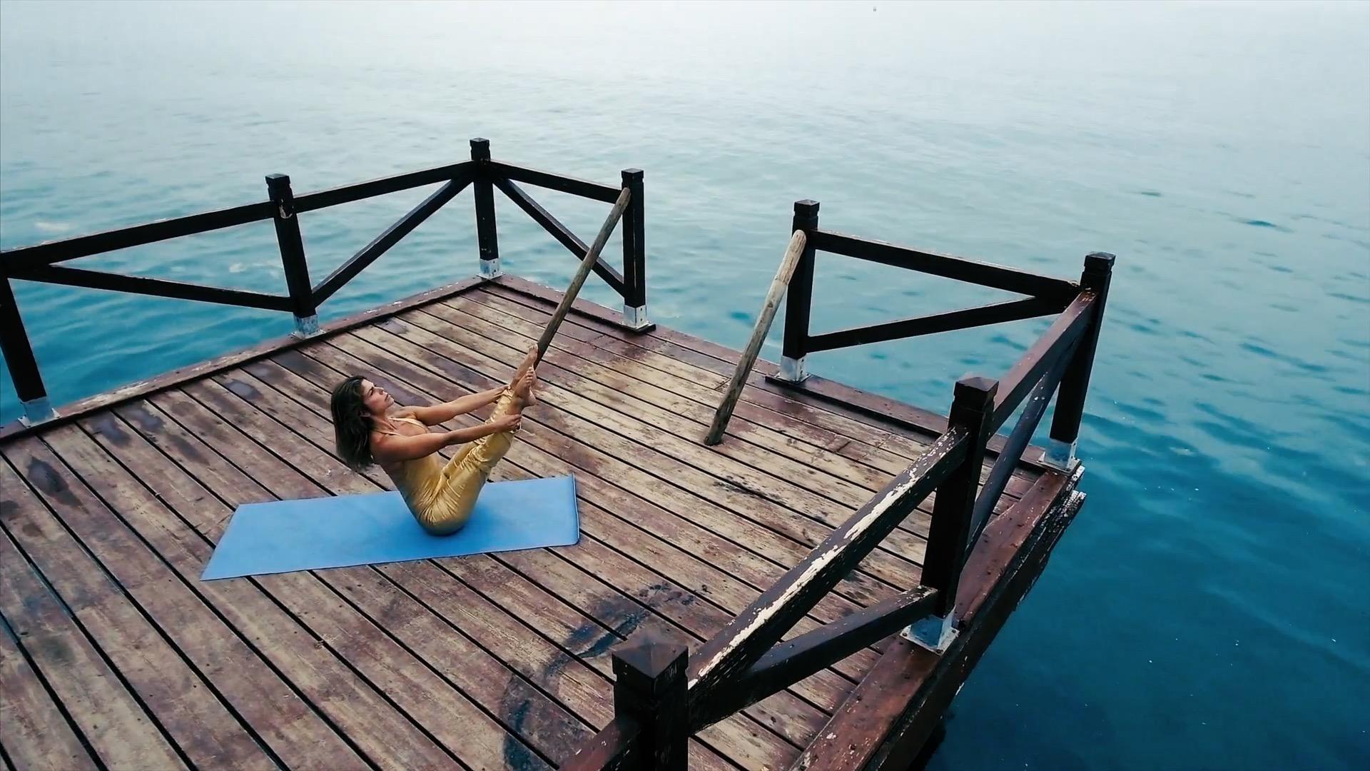 Pilates en el Marbella Club.