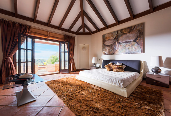 Bedroom with views.