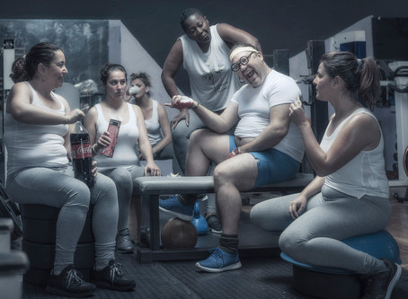 Now or never, get fit at the gym !!!