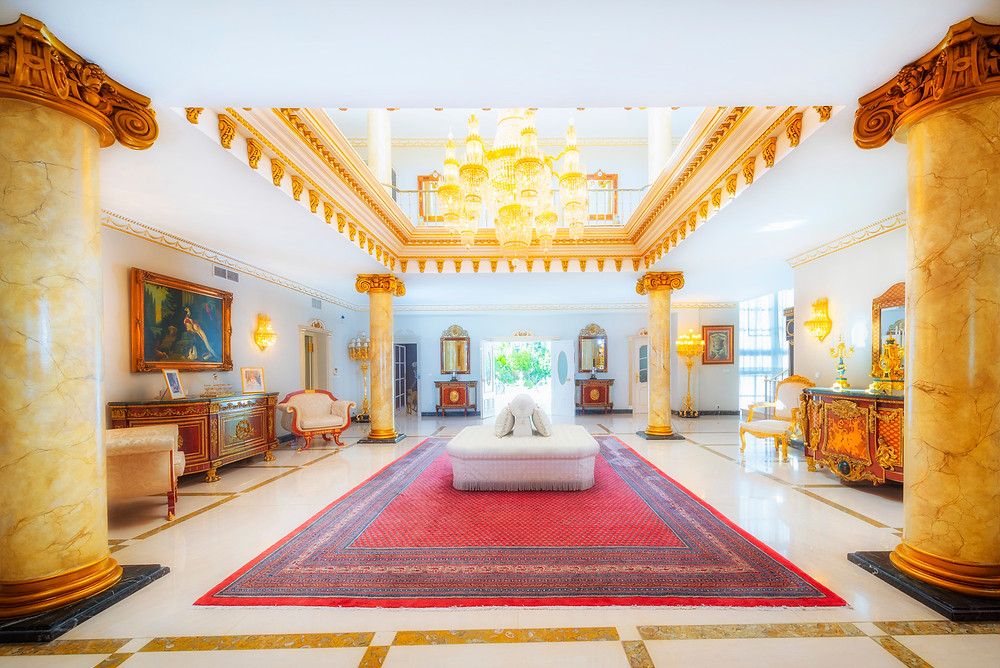 Luxury property in Marbella, Spain.