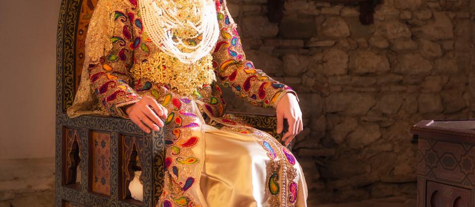 Luxury Kaftan dresses from Tangier, Morocco.