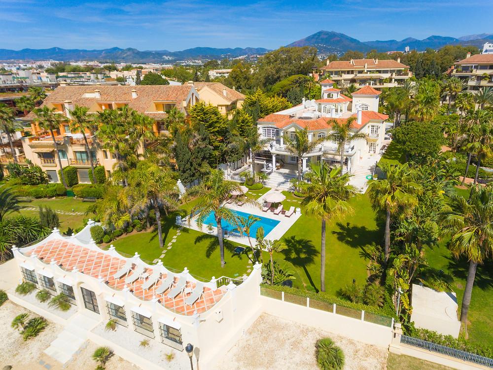 Luxury property in Marbella, Costa del Sol, Malaga, Andalusia, Spain.
