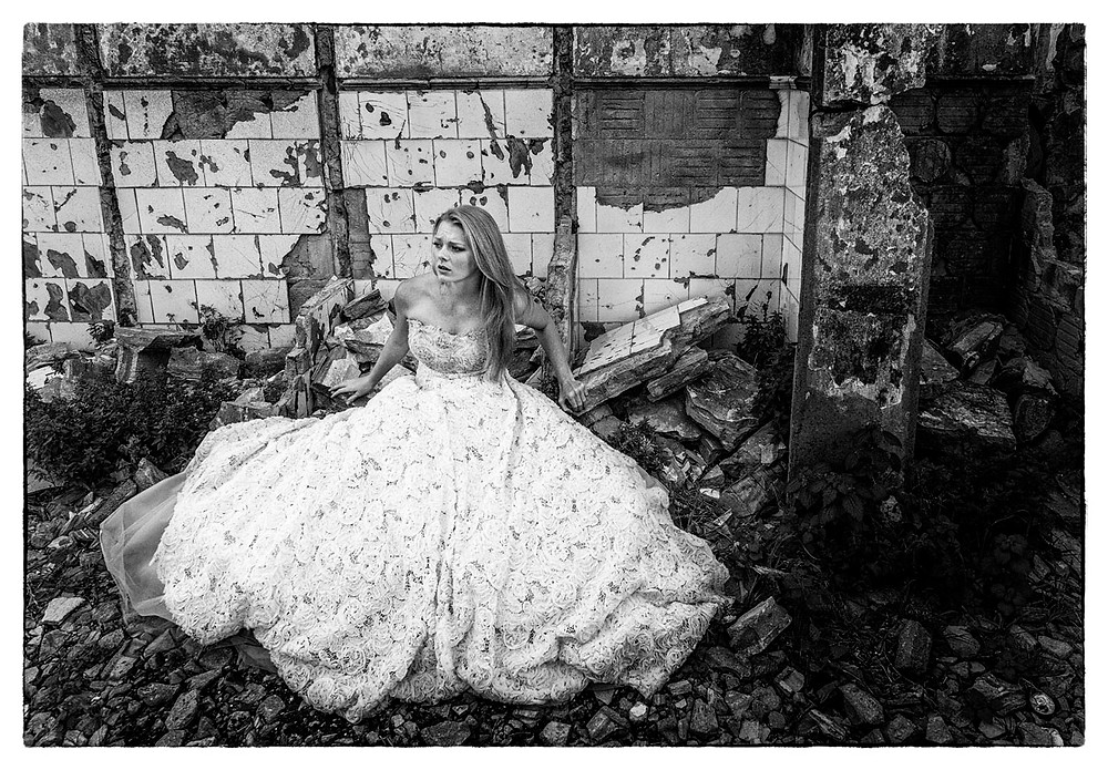 Ghost fashion photo shoot.