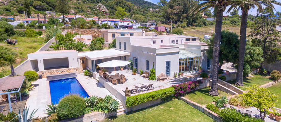 Stunning real estate in Tarifa, Southern Spain.