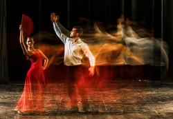 Flamenco dancers.