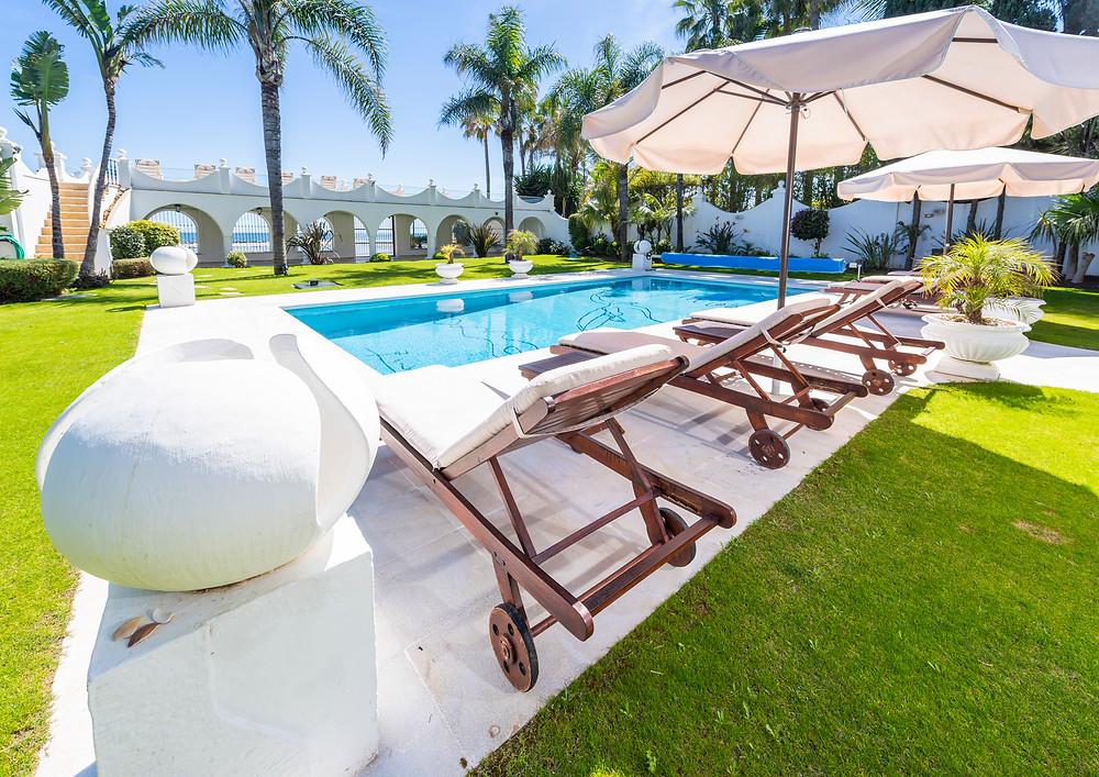 Beautiful location in Marbella.