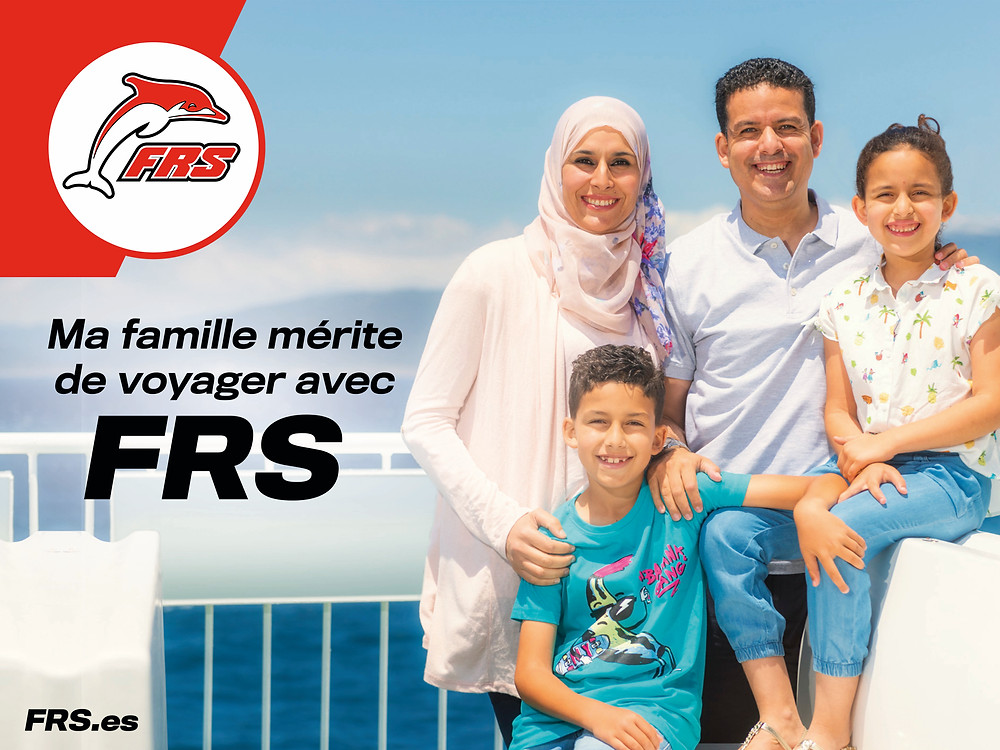 Moroccan family photographed by Ben Welsh for the new campaign for FRS ferry.