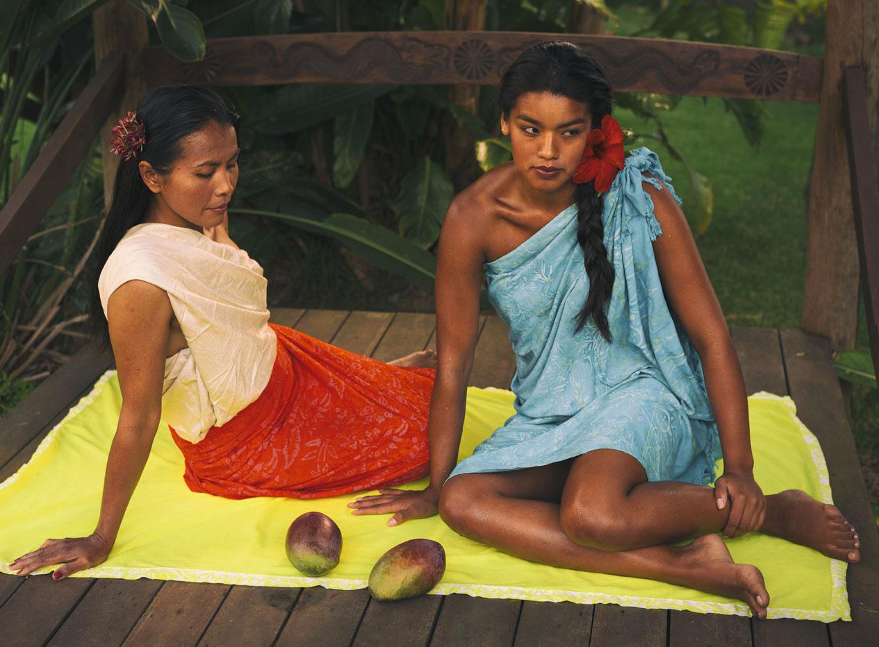 Inspirado en Paul Gauguin
