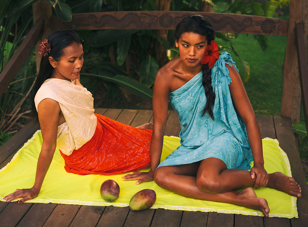 A photo series inspired by the french painter, Paul Gauguin.