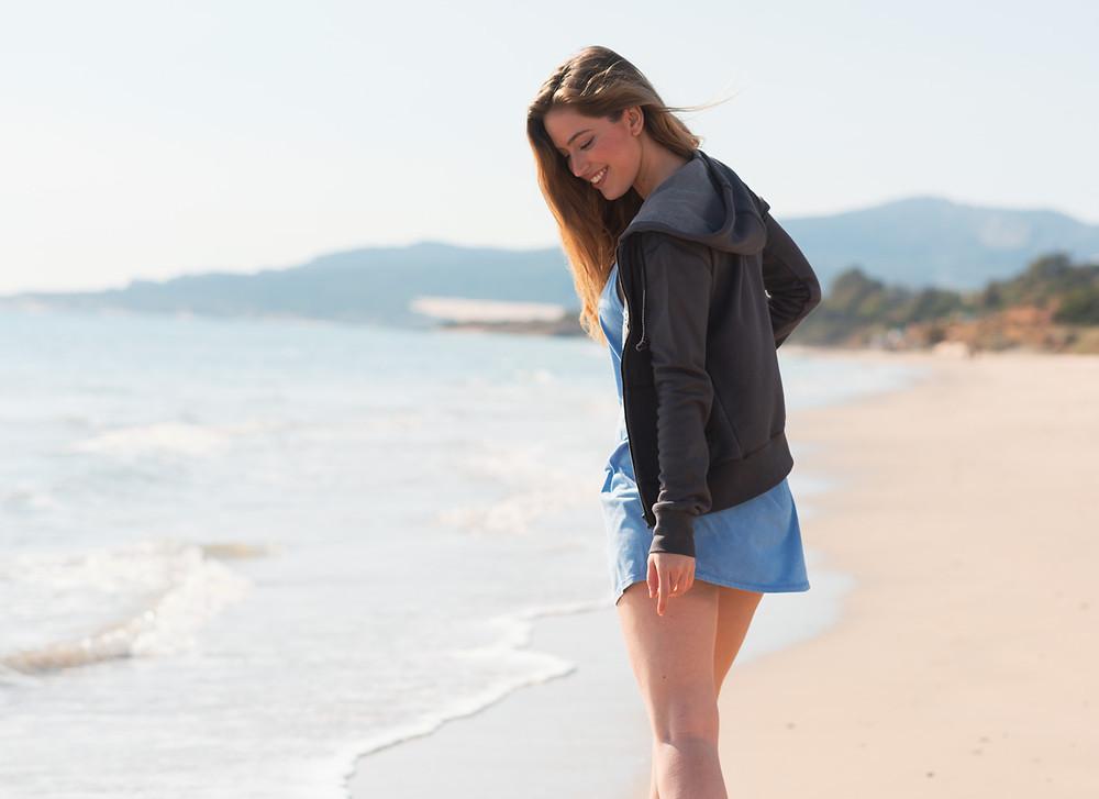 Fashion photo shoot in La Costa de la Luz, Tarifa.